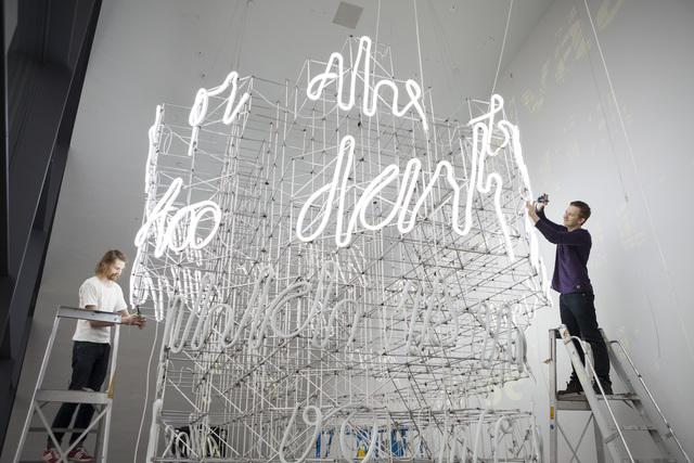 , 'Dialogue,' 2014, Kiasma Museum of Contemporary Art