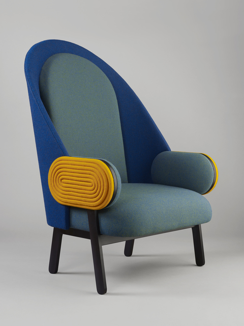 , ''MOON', a Contemporary Armchair with a Vintage Twist,' 2015, Galerie BSL
