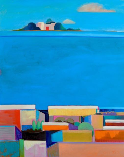 , 'Blue Window,' 2017, Adelman Fine Art