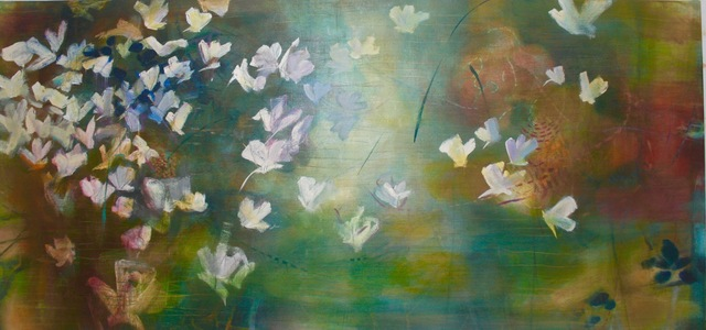 Janet Fredericks, 'Flowers That Sing and All But Fly', West Branch Gallery