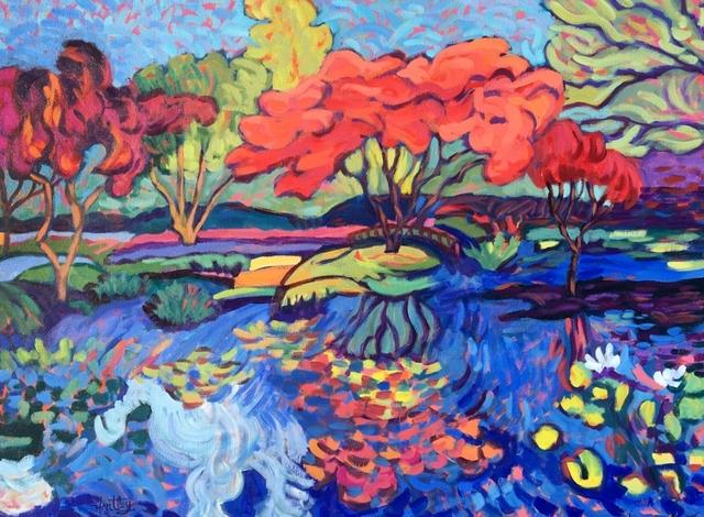 ", '""Garden Reflections"",' 2018, Bonner David Galleries"