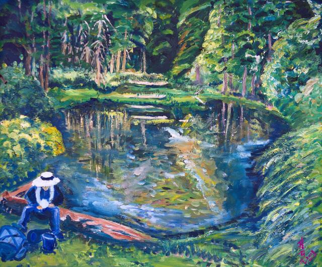, 'Green Lake,' 2013, Liang Gallery