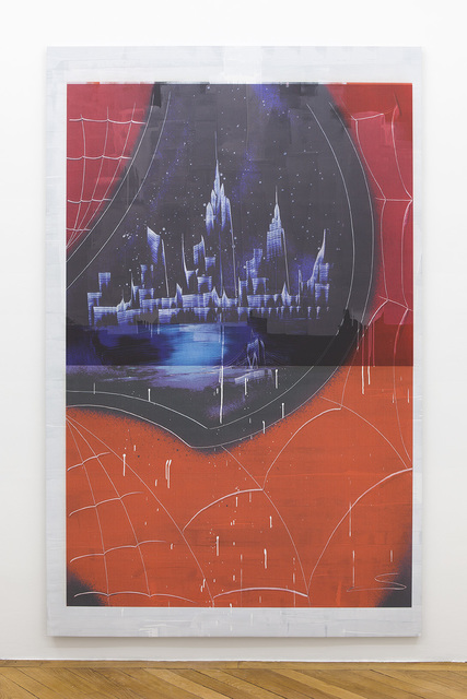 Ned Vena, 'Manhattan Skyline Between Late 2001-2010 Reflected in the Eye of Spiderman', 2017, Société