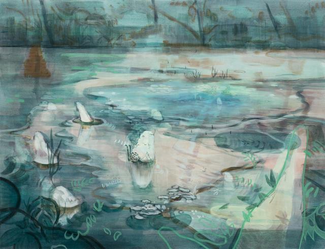 , 'Green Hints I,' 2015, Tomio Koyama Gallery