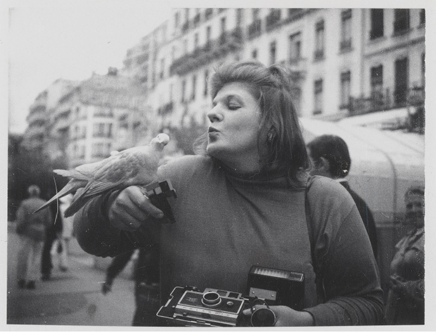 , 'Untitled (Self-Portrait with Pigeon),' ca. 1971–1973, Gagosian