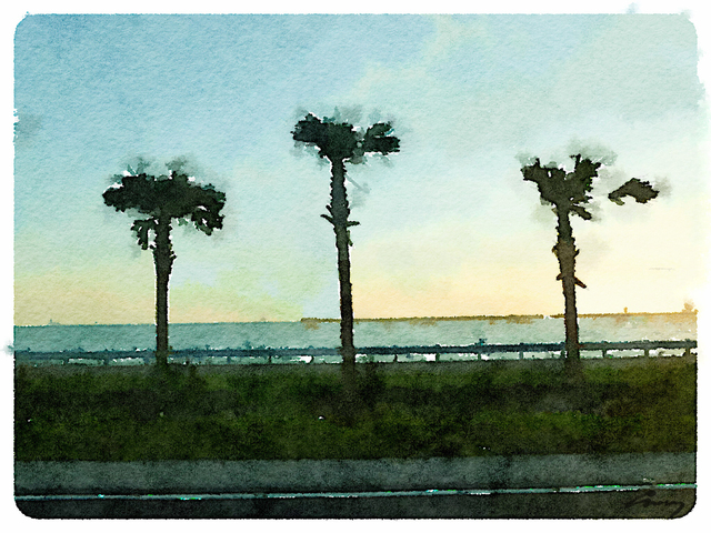 , 'Gulf Sunset, FL,' 2014, TAG Gallery