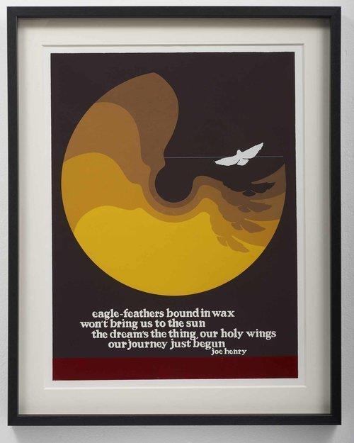 Thomas W. Benton, 'Joe Henry - Eagles ', 1972, Gonzo Gallery