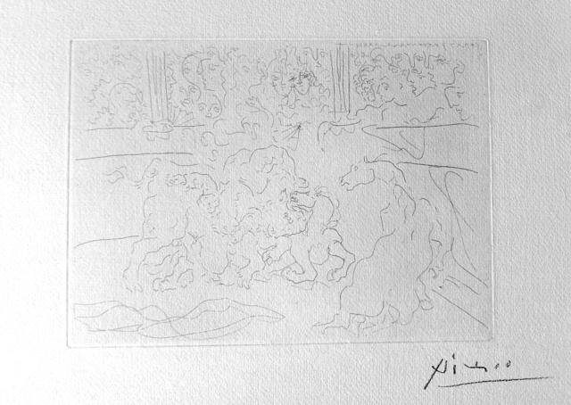 Pablo Picasso, 'Taureau et Chevaux dans l'Arène', 1933, Van der Vorst- Art