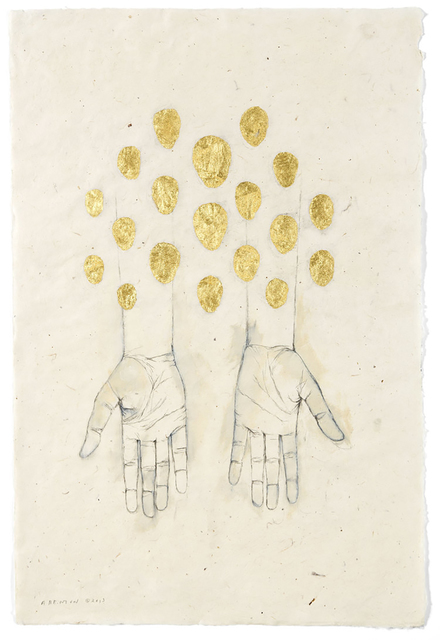 , 'Hands 2,' 2014, Sylvia White Gallery