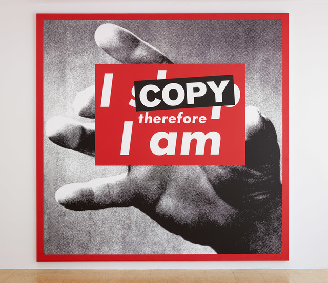 , 'I Copy Therefore I Am,' 2009, 1301PE