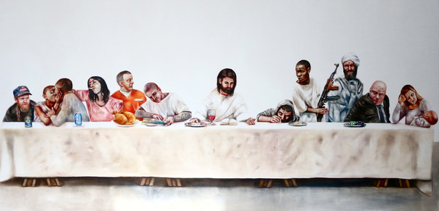 , 'Last Supper Giclee print,' 2017, Art Unified Gallery
