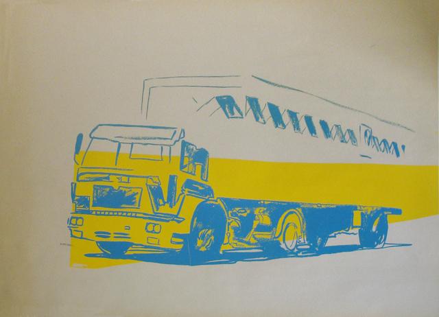 Andy Warhol, 'Truck', ca. 1980, Westwood Gallery NYC