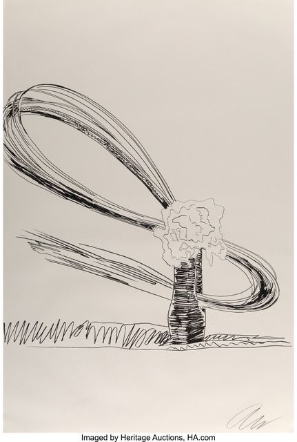 Andy Warhol, 'Flowers (Black and White)', 1974, Heritage Auctions