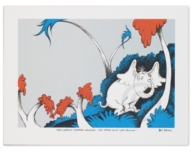 Dr. Seuss, 'Dr. Seuss, The Speck-Voice Was Talking!', Oliver Cole Gallery