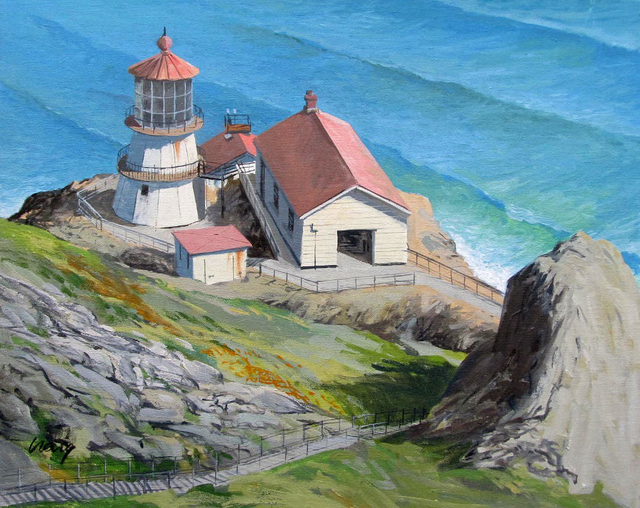, 'Point Reyes Light House ,' , Desta Gallery