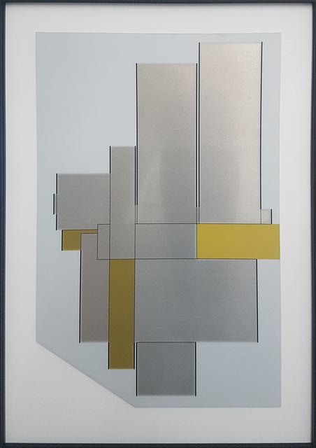, 'Geometry on metal,' 2019, Ani Molnár Gallery