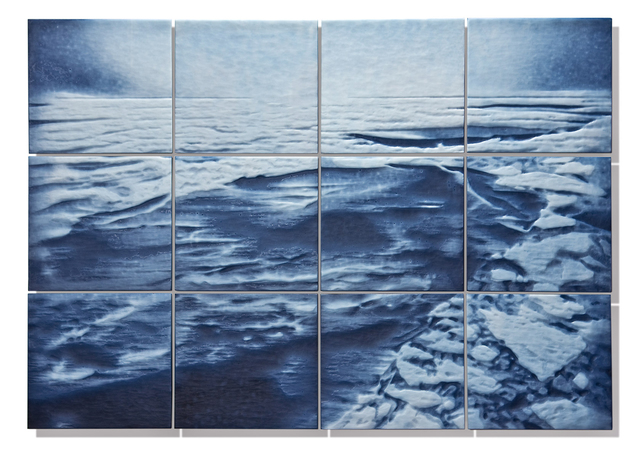 , 'MUCH MORE THAN A PICTURE OF ICE,' 2015, Heller Gallery