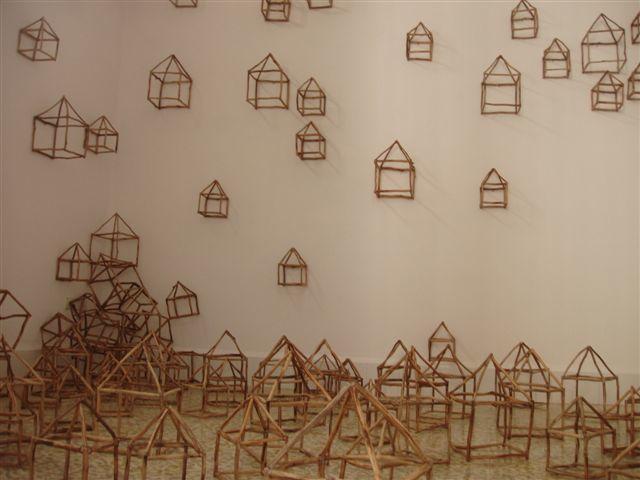 Juan Roberto Diago, 'La Ciudad Transparente', 2001, Installation, Assembled wood, Pan American Art Projects