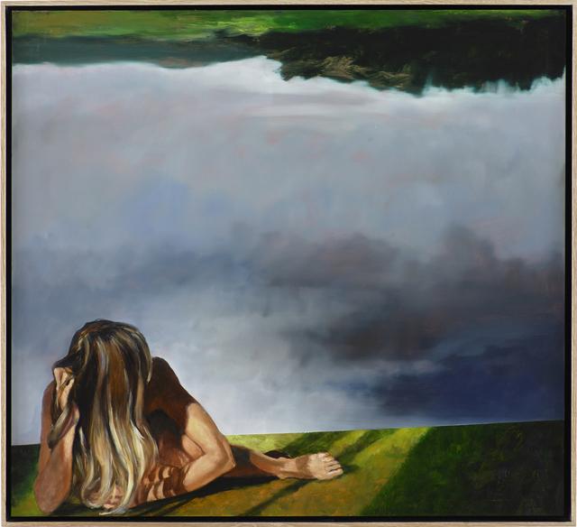 , 'Gekippte Landschaft,' 2016, bechter kastowsky galerie