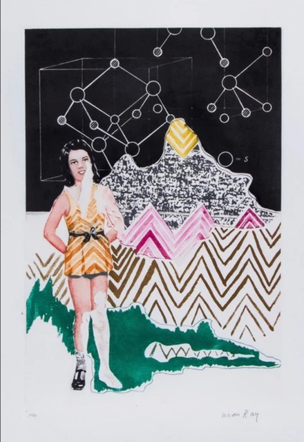 Man Ray, 'Homage to Linus Pauling - On the Moon', 1970, Kunzt Gallery