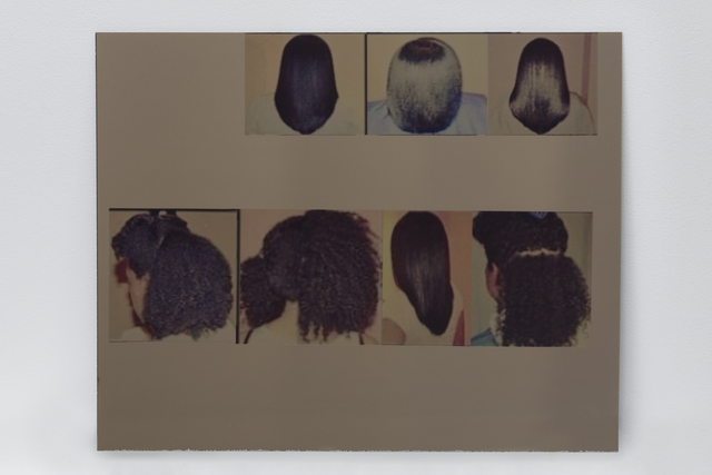, '4C curls: Bad Indians, your eyes on the back of these heads,' 2017, Night Gallery