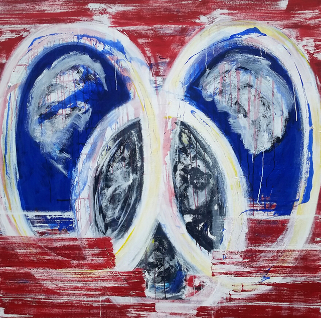 , 'Mickey (Red),' 2018, Galerie Olivier Waltman | Waltman Ortega Fine Art