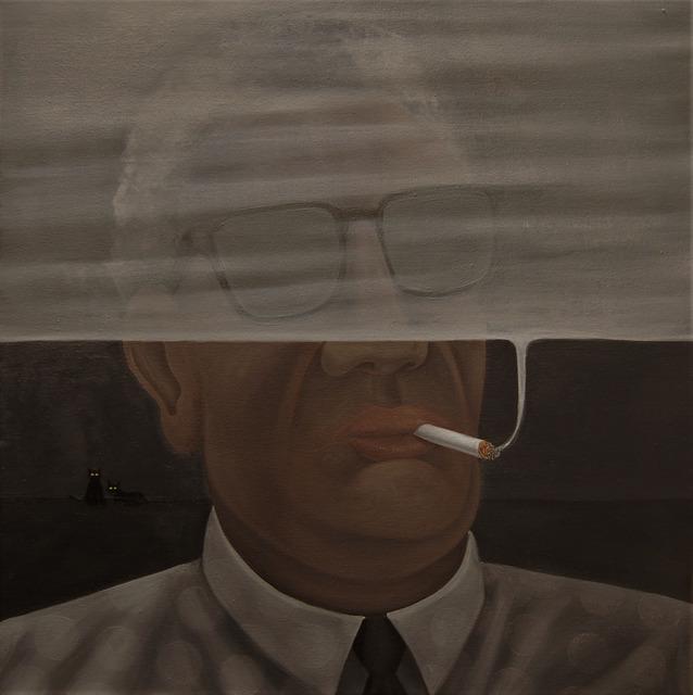 , 'Smoke,' 2019, 532 Gallery Thomas Jaeckel