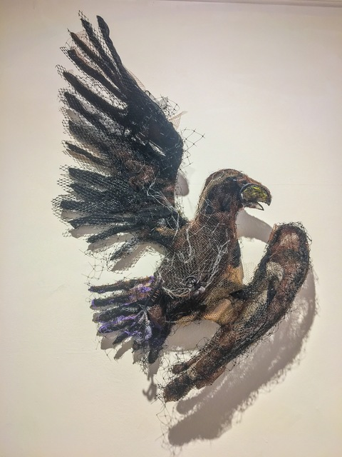, 'The Wounded Eagle after Rosa Bonheur ca. 1870,' 2017, Cross Contemporary Art