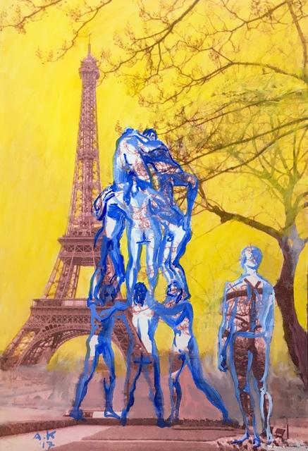 , 'Man tower,' 2017, Absolut Art Gallery