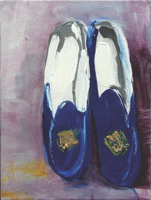 , 'Patti Smith Land 250: Robert's Slippers, 2002,' 2018, Galería Emma Molina