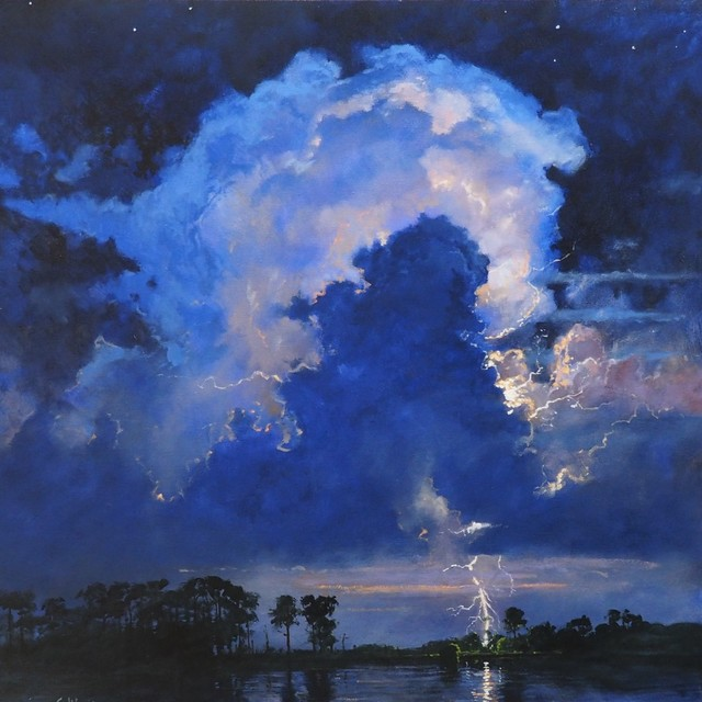 , 'Lightning on the Bayou,' , LeMieux Galleries