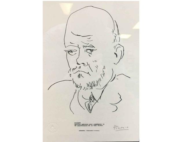Pablo Picasso, 'Portrait of Ambroise Vollard, Plate 100', 1967, Leviton Fine Art