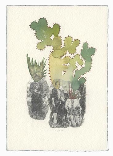 , 'Blending In (Cactus People 7),' 2016, Open Mind Art Space