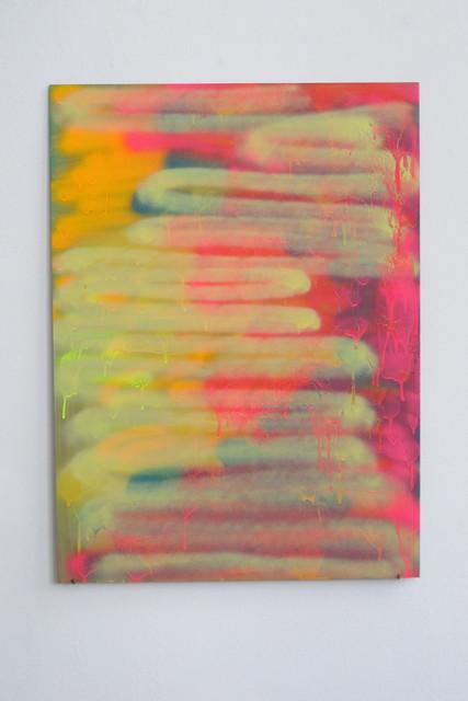 Katharina Grosse, 'Ohne Titel', 2001, Galerie Mark Müller