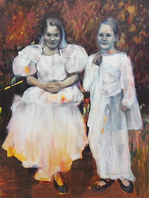 , 'Girls in the Garden,' 2019, 99 Loop Gallery