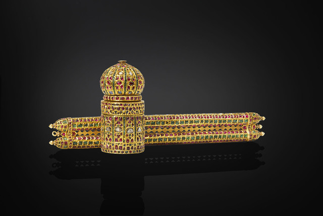 , 'Pen case and inkwell, Deccan plateau or North India,' 1575–1600, Legion of Honor