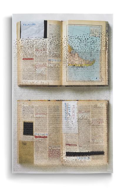 , 'La última enciclopedia (anotaciones marginales),' 2016, Aldo de Sousa Gallery