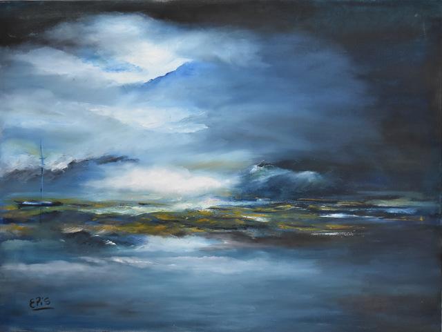 Corina Epis, 'Noche Azulada', 2012, ACCS Visual Arts
