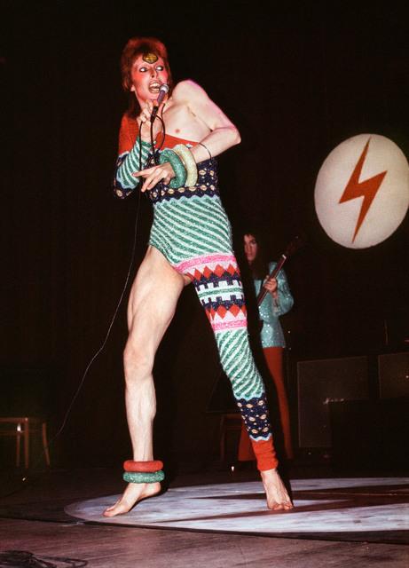 , 'Bowie in Kansai Yamamoto Leotard,' 1973, TASCHEN