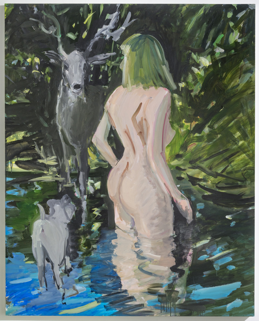 , 'Diana and Actaeon,' 2018, Castor Gallery