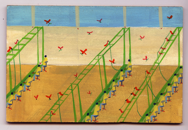 , 'Parrots at Work,' 2017, Court Tree Gallery
