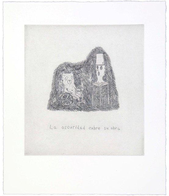 , 'The darkness cover his work,' 2014, Polígrafa Obra Gráfica