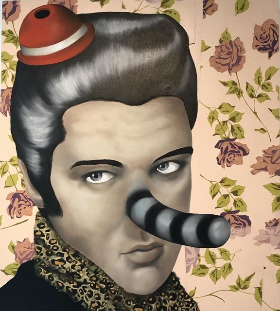 Massimo Gurnari, 'Elvis Costello travestito', 2010, AreaB