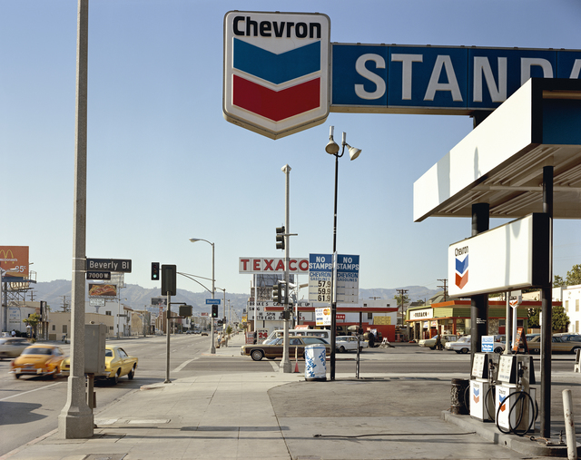 , 'Beverly Boulevard and La Brea Avenue, Los Angeles, California, June 21, 1975,' 1975, The Museum of Modern Art