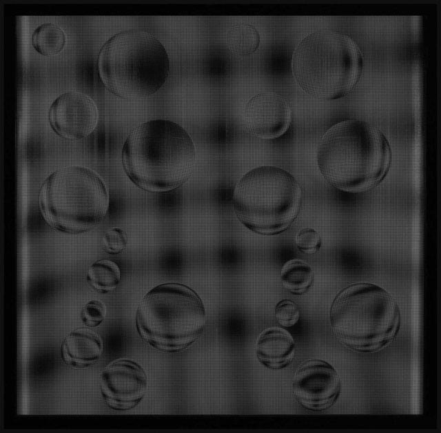 , '22 Esferas en Ondas (Negro),' 2011, Art Nouveau Gallery