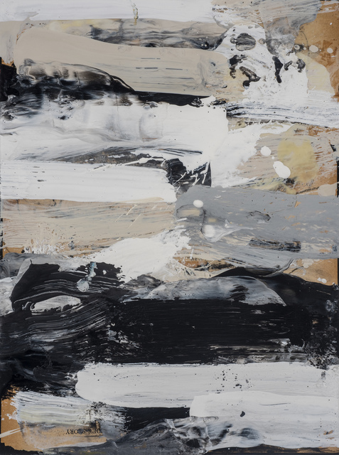 , 'Black and White Study #3,' 2019, M.A. Doran Gallery