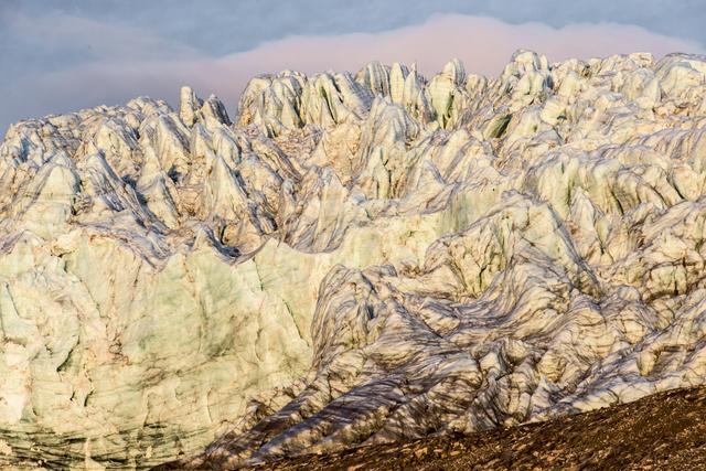 , 'Esmarkbreen (glacier), Ymerbukta (bay), Svalbard (Spitsbergen), Norway,' 2016, Garvey | Simon
