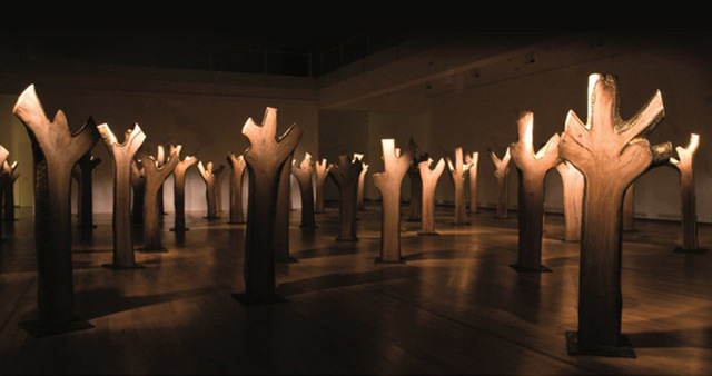 Virgil Scripcariu, 'Cherry Trees', 2011, AnnArt Gallery
