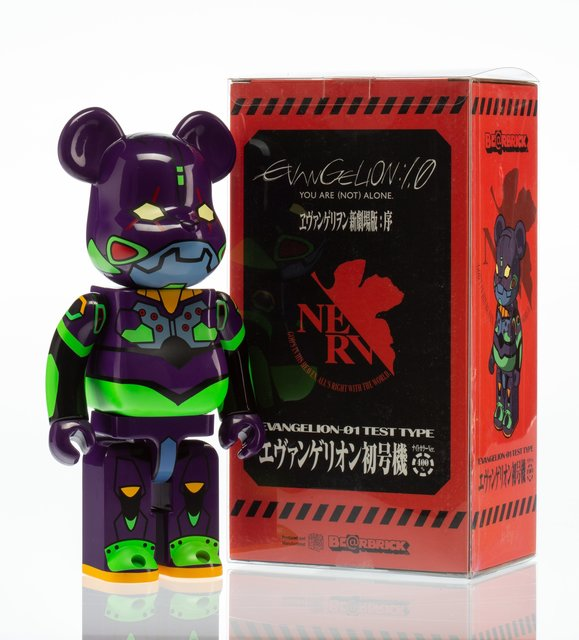 BE@RBRICK X Evangelion, 'EVA-1 Test Type 400%', 2013, Other, Painted cast resin, Heritage Auctions