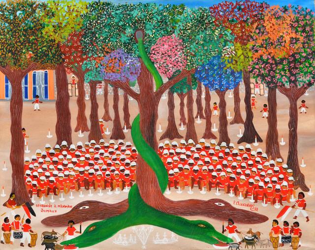 , 'Offrande à maman jumeau,' , Le Centre d'Art d'Haïti